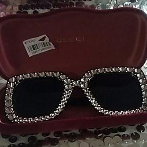REAL Gucci  sunglasses case , (shades not Gucci)